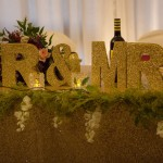 Melissa & Allan Headtable Decor