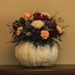 Melissa & Allan Pumpkin Flowers